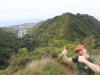 Ridge hike in Honolulu
