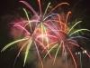 Fireworks at Dodger Stadium
