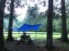 Campsite at Bear Spring Mountain, New York